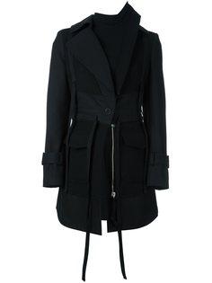 пальто с капюшоном Alexander McQueen