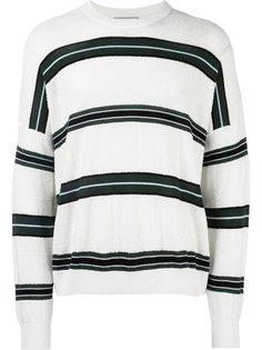 полосатый свитер мешковатого кроя Ami Alexandre Mattiussi