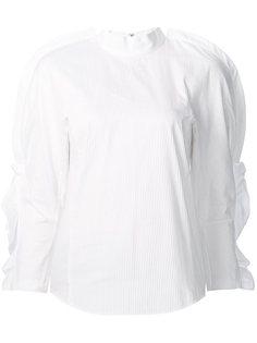 блузка с рюшами на рукавах Toga