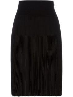 плиссированная юбка до колена Givenchy
