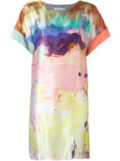 платье с акварельным рисунком Tsumori Chisato