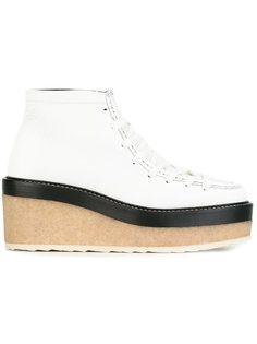туфли на платформе со шнуровкой Pierre Hardy