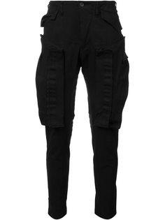 зауженные брюки с карманами Julius