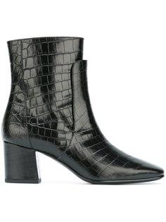 ботинки с эффектом крокодиловой кожи Givenchy