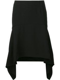 юбка с асимметричным подолом T By Alexander Wang