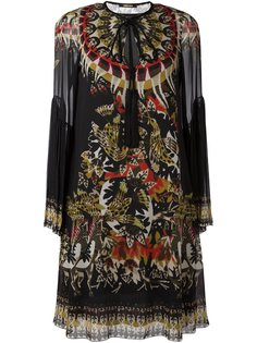 платье-туника с принтом Roberto Cavalli