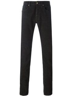 текстурированные брюки Incotex