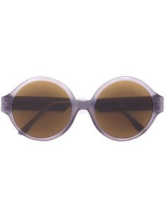 солнцезащитные очки в круглой оправе Vera Wang