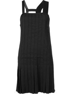 плиссированное платье Vera Wang
