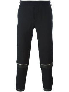 брюки с молниями Les Hommes