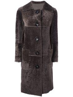 пальто длины миди Sylvie Schimmel