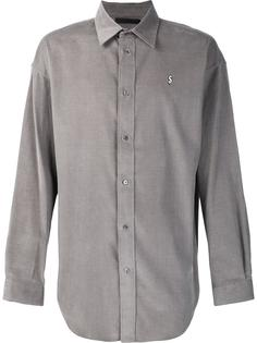 рубашка с вышивкой знака доллара Alexander Wang