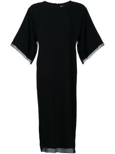 двухслойное платье Strateas Carlucci