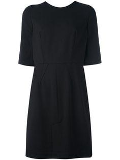 платье с V-образным вырезом на спине Givenchy