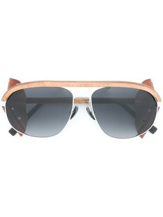 солнцезащитные очки Born Heritage  Gold And Wood