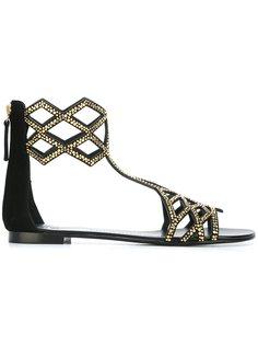 сандалии на плоской подошве Raquel Giuseppe Zanotti Design