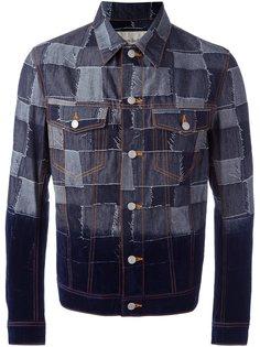 лоскутная джинсовая куртка Casely-Hayford