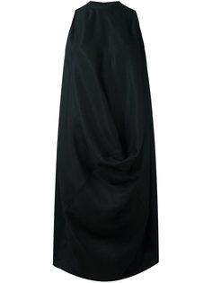платье шифт с драпировкой Rick Owens