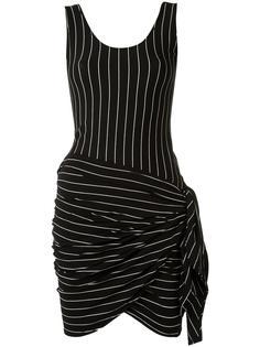 пляжное платье в полоску Amir Slama