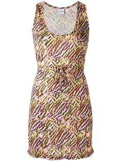 пляжное платье с принтом Amir Slama