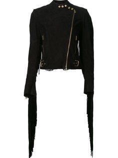 байкерская куртка с бахромой Ralph Lauren