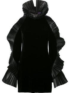 мини-платье с рюшами Ralph Lauren