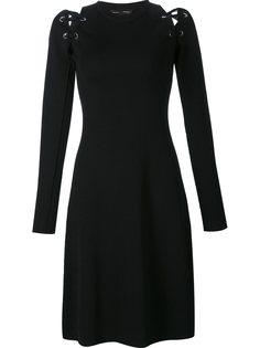 платье с декоративной шнуровкой Proenza Schouler
