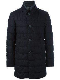 дутая куртка с высоким воротником Herno