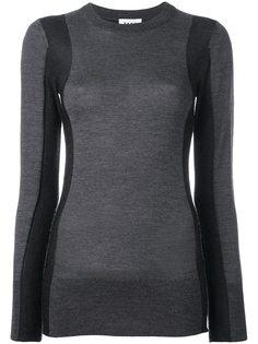 джемпер с панельным дизайном DKNY