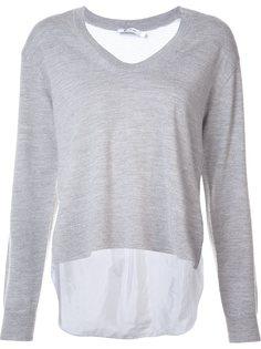 contrast back sweater Alexander Wang