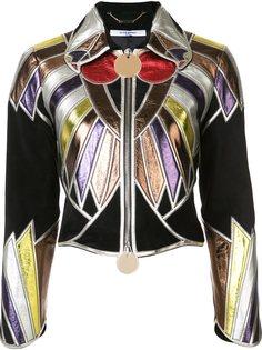 укороченная куртка лоскутного кроя Givenchy