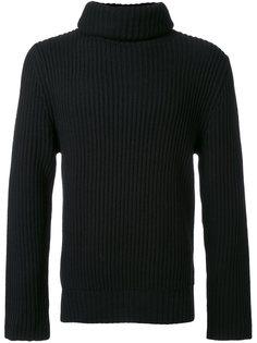 свитер-водолазка в рубчик  Christian Dada