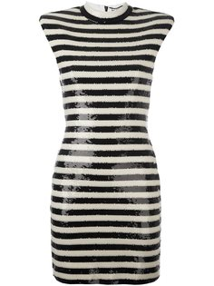 платье без рукавов  Saint Laurent