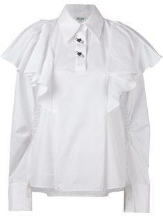 свободная блузка с оборками Kenzo