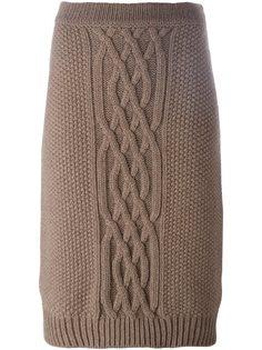 вязаная юбка Agnona
