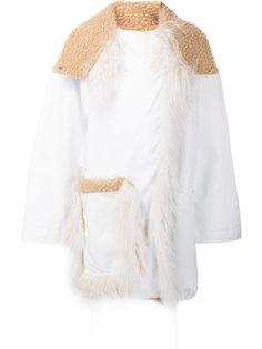 пальто на кнопках  Paco Rabanne