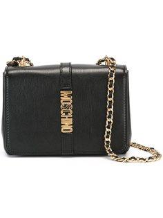 сумка с логотипом Moschino