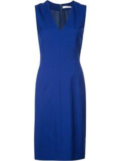 платье шифт с V-образным вырезом Lanvin