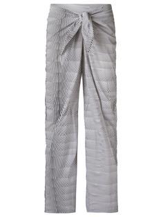 брюки с принтом Amir Slama