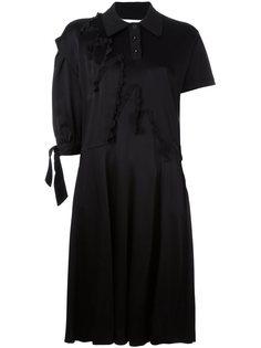 платье-рубашка с асимметричными рукавами Maison Margiela