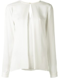блузка с плиссировкой спереди Michael Michael Kors
