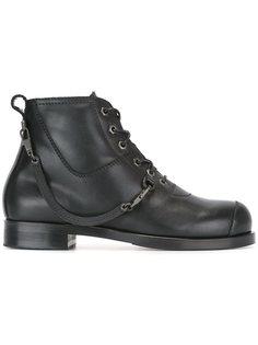ботинки на шнуровке  Helmut Lang