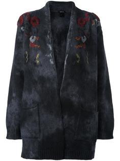 кардиган с цветочной вышивкой Avant Toi