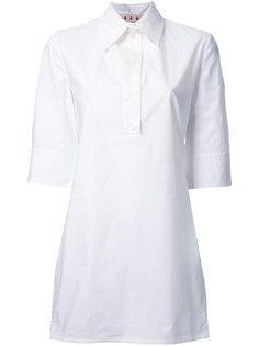 рубашка из поплина Marni