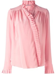 блузка с оборками Ermanno Scervino