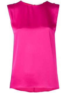 шелковая блузка без рукавов  Maison Rabih Kayrouz
