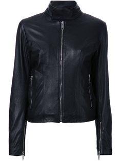 байкерская куртка Strateas Carlucci