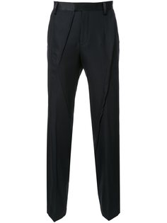 брюки прямого кроя Undercover