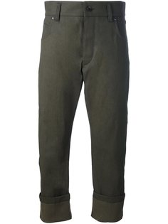 брюки с простроченными панелями Haider Ackermann