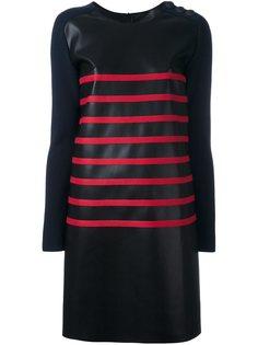 платье в полоску Cédric Charlier